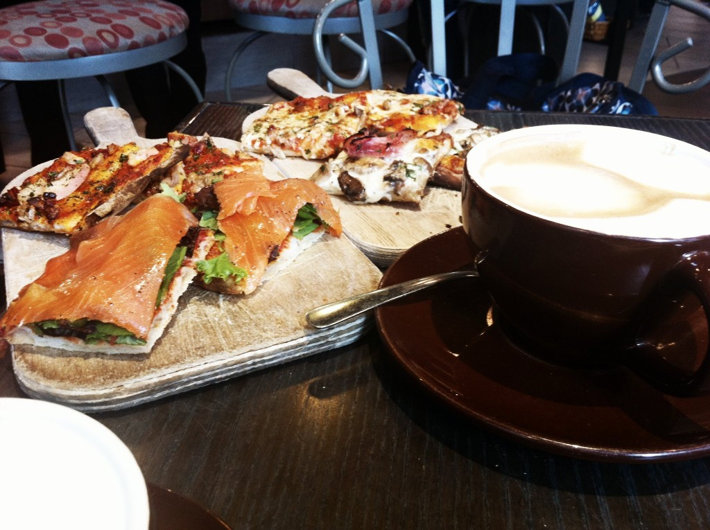 Pizza & Cappuccino - Sciue Italian Bakery and Cafe