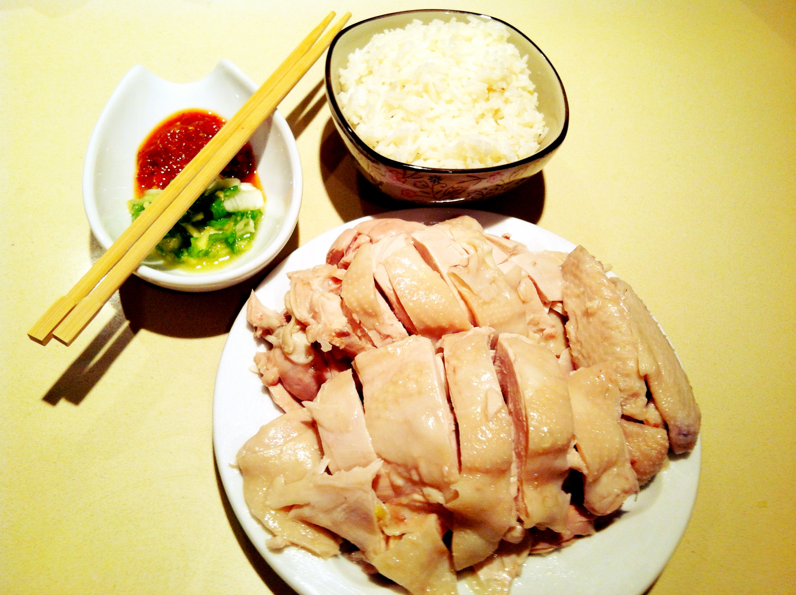 Hainan Chicken at Home