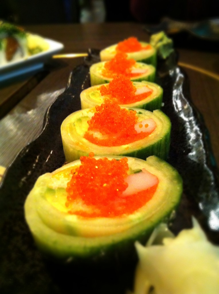 Chef Special Rolls - Lotus @ Charcoal Sushi BBQ