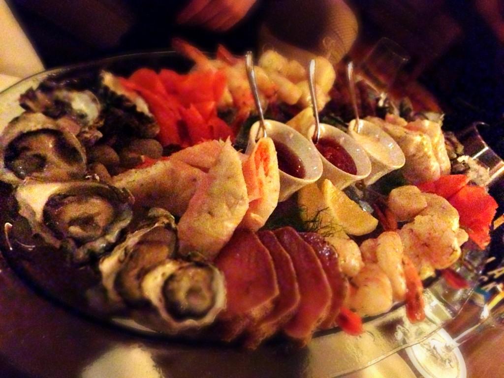 Seafood Platter @ Mallard Lounge Chateau Whistler