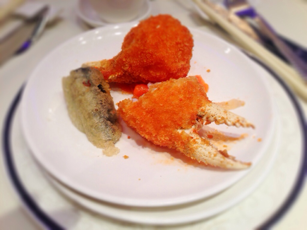 Crab Claws Stuffed with Shrimp Paste @ Empire Seafood Richmond