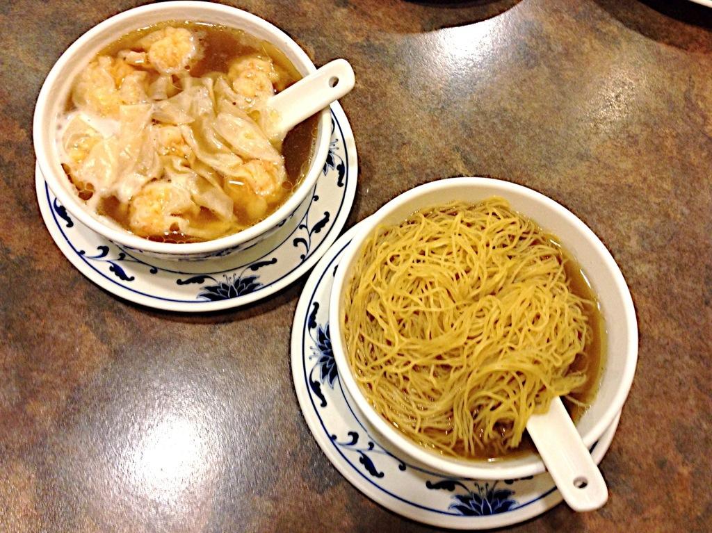 Wontons & Noodles @ Max Noodle House