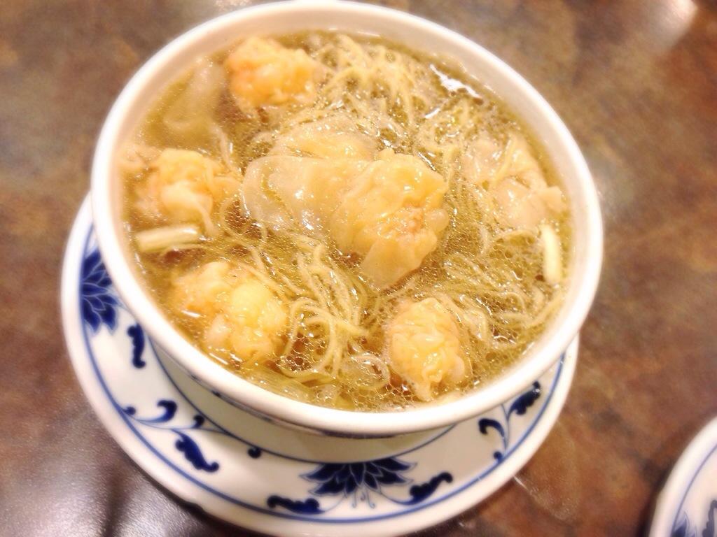 Wontons Noodle Soup @ Max Noodle House