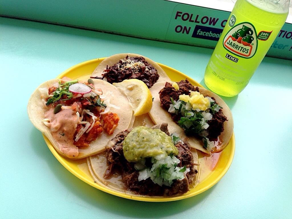 Tacos @ La Taqueria