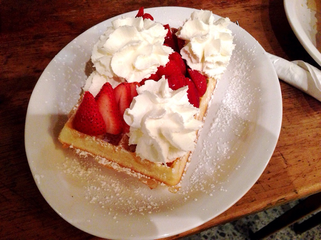 """Heaven"" - Nero Belgian Waffle Bar"