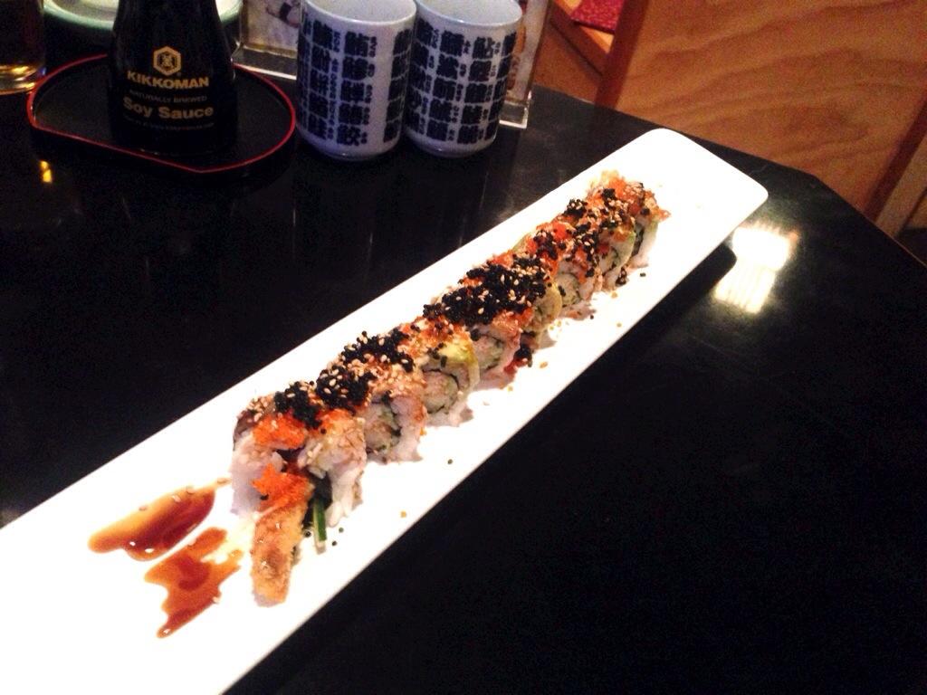 Black Dragon Rolls @ Koto Izakaya