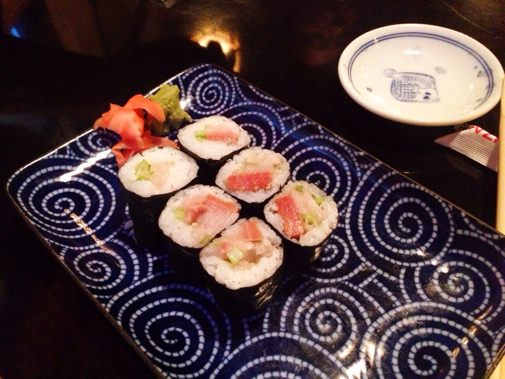 Hamachi Roll @  Koto Izakaya