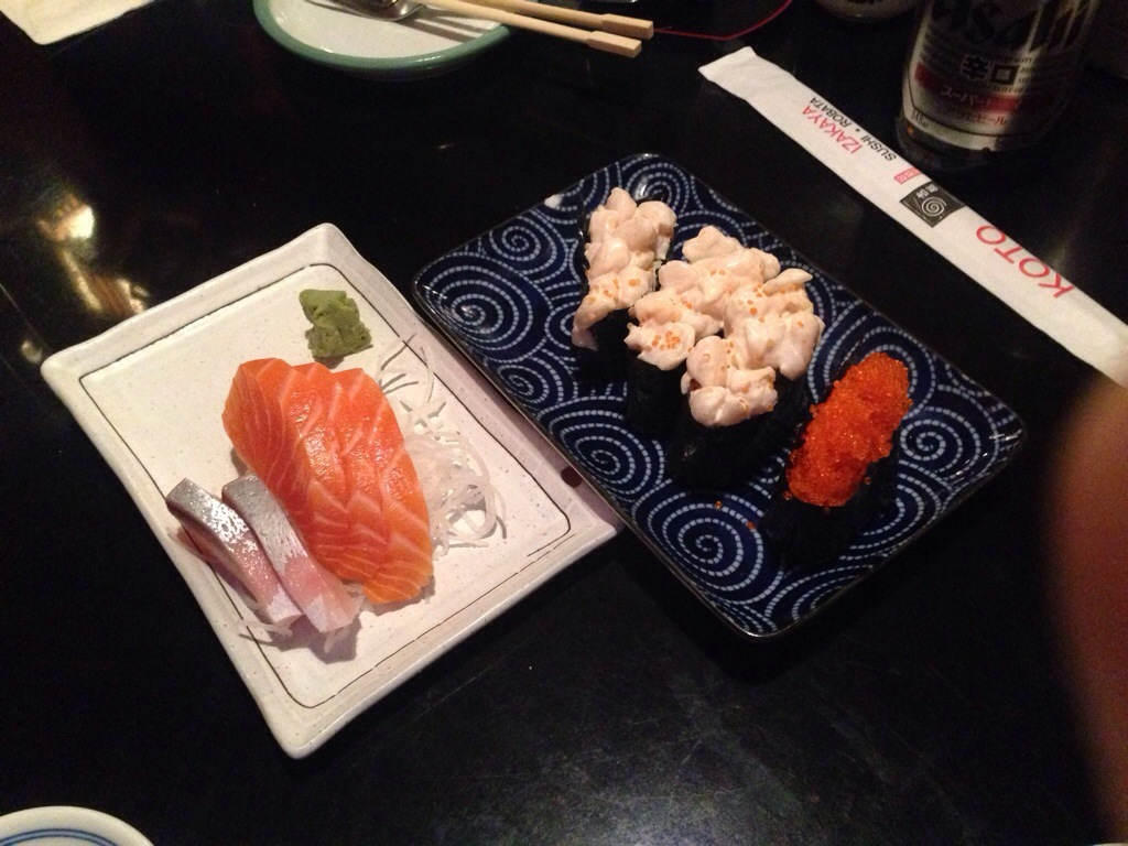 Late Night Menu Items @ Koto Izakaya