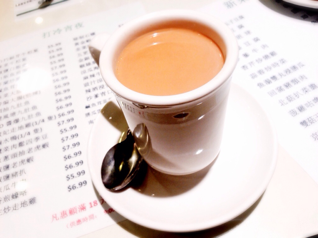 Hong Kong Style Milk Tea @ The One Cafe