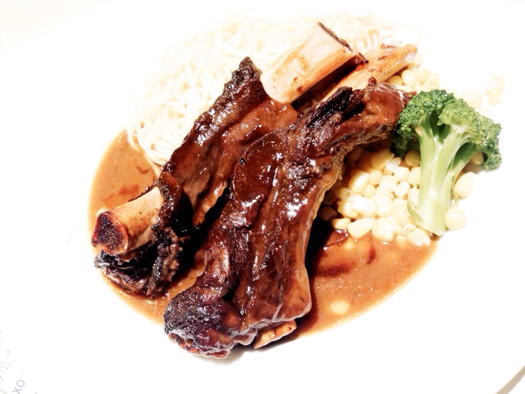 Smoked Pork Ribs @ The One Cafe