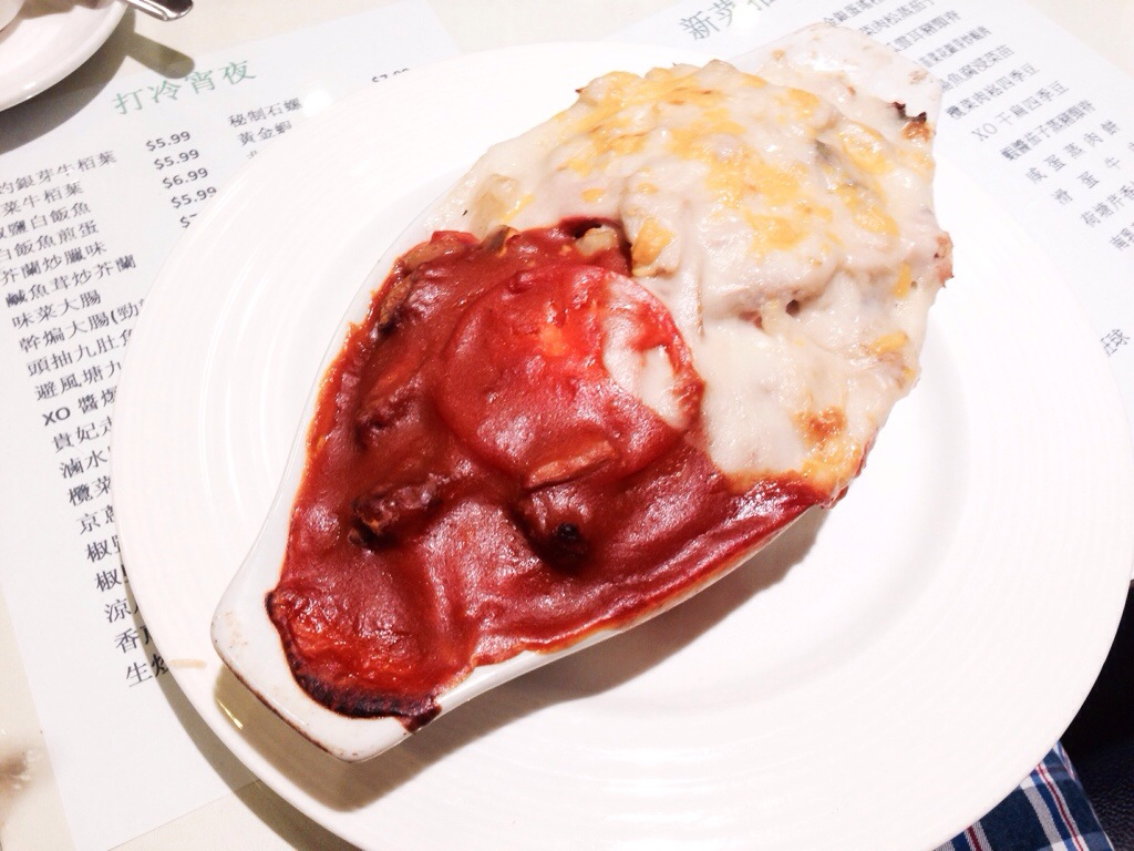 """""""Yuen Yeung"""" Baked Rice Casserole @ The One Cafe"""