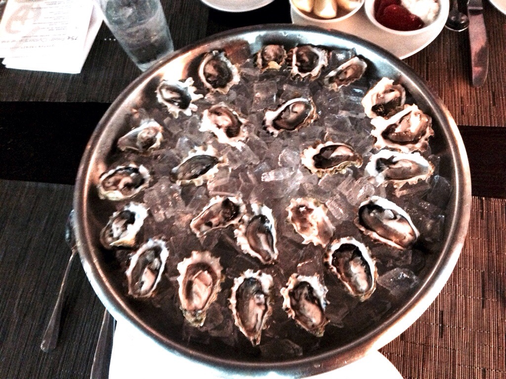 Oyster Happy Hours @ Flying Fish Seattle