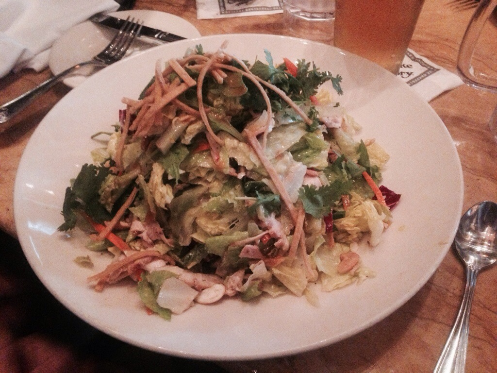 Sheila's Cashew Chicken Salad @ The Cheesecake Factory Seattle