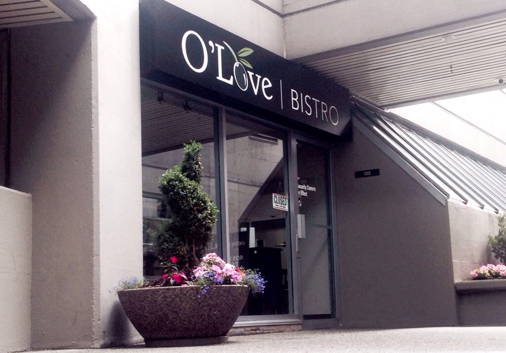 O'Love Bistro Downtown Vancouver