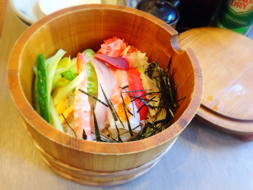 Chirashi Don @ Kita No Donburi