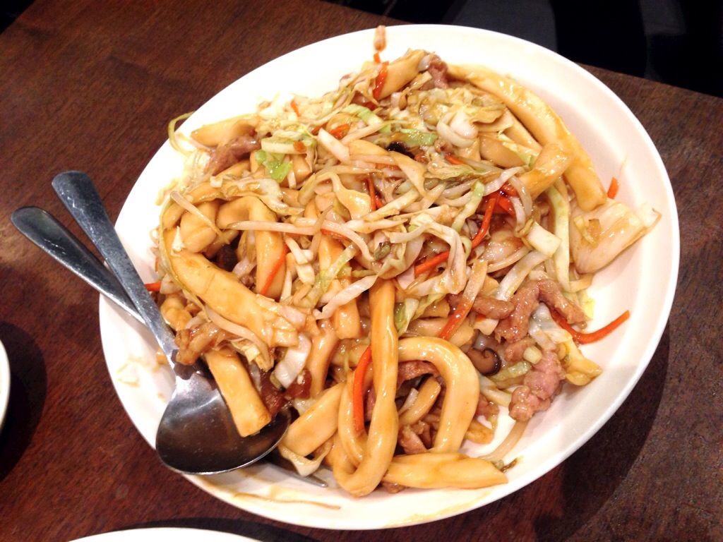 Seafood Shanghainese Noodles @ Dinesty Dumpling House
