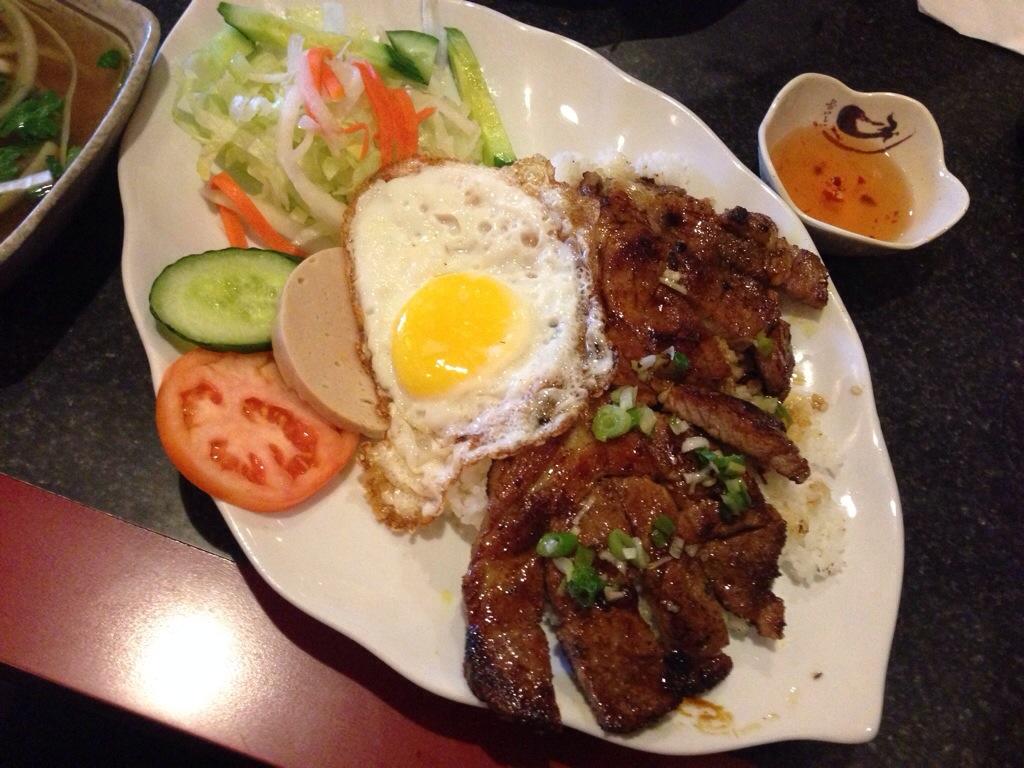 Lemon Grass Pork Ribs @ Fumiyoshi