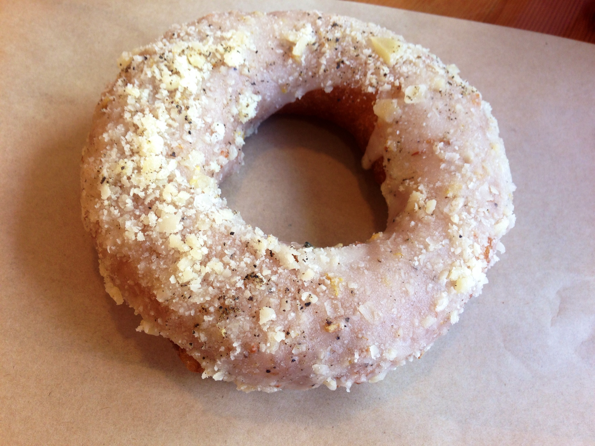 honey parmesan donut @ Cartems