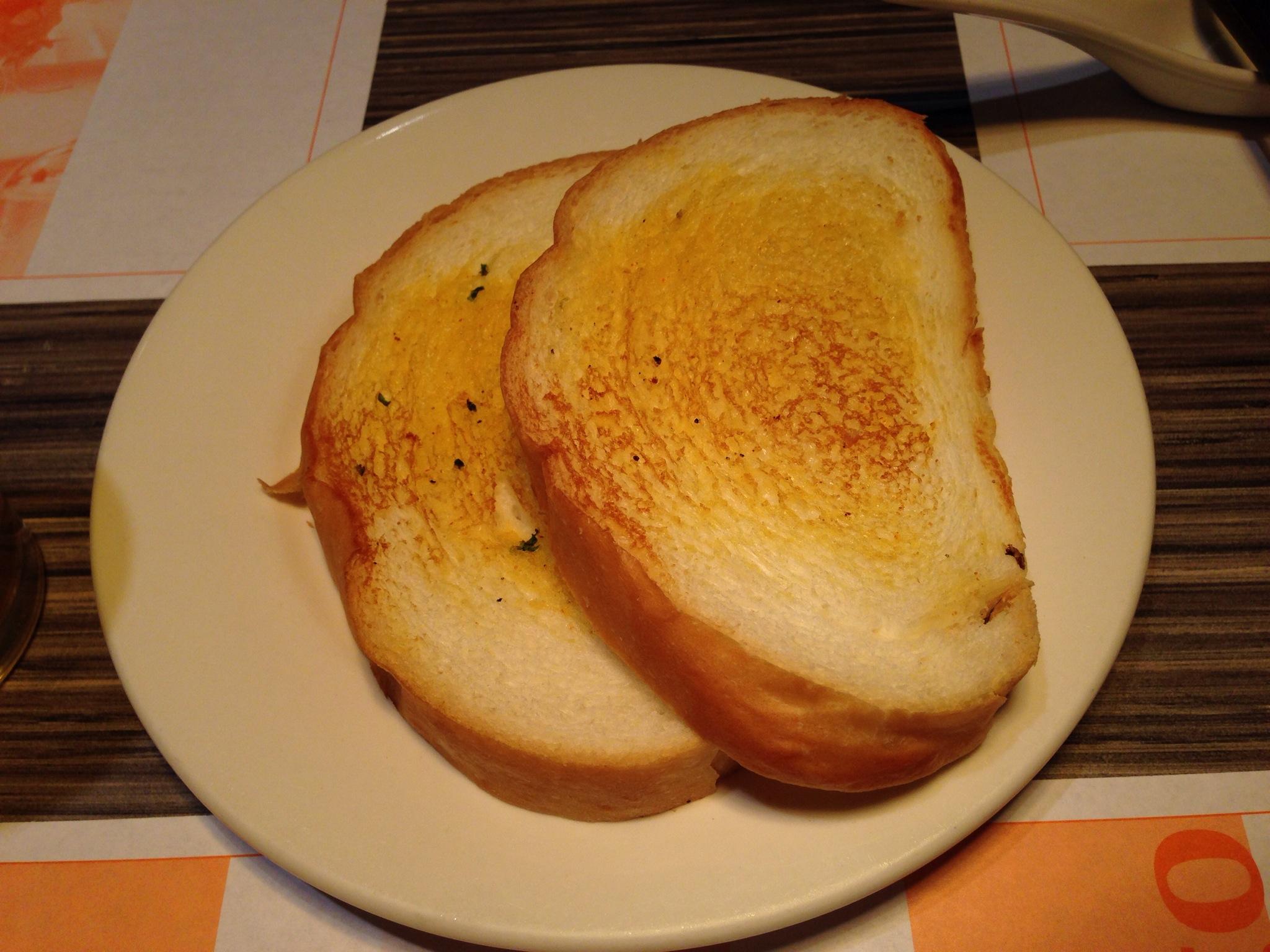 Garlic Toast @ La Amigo
