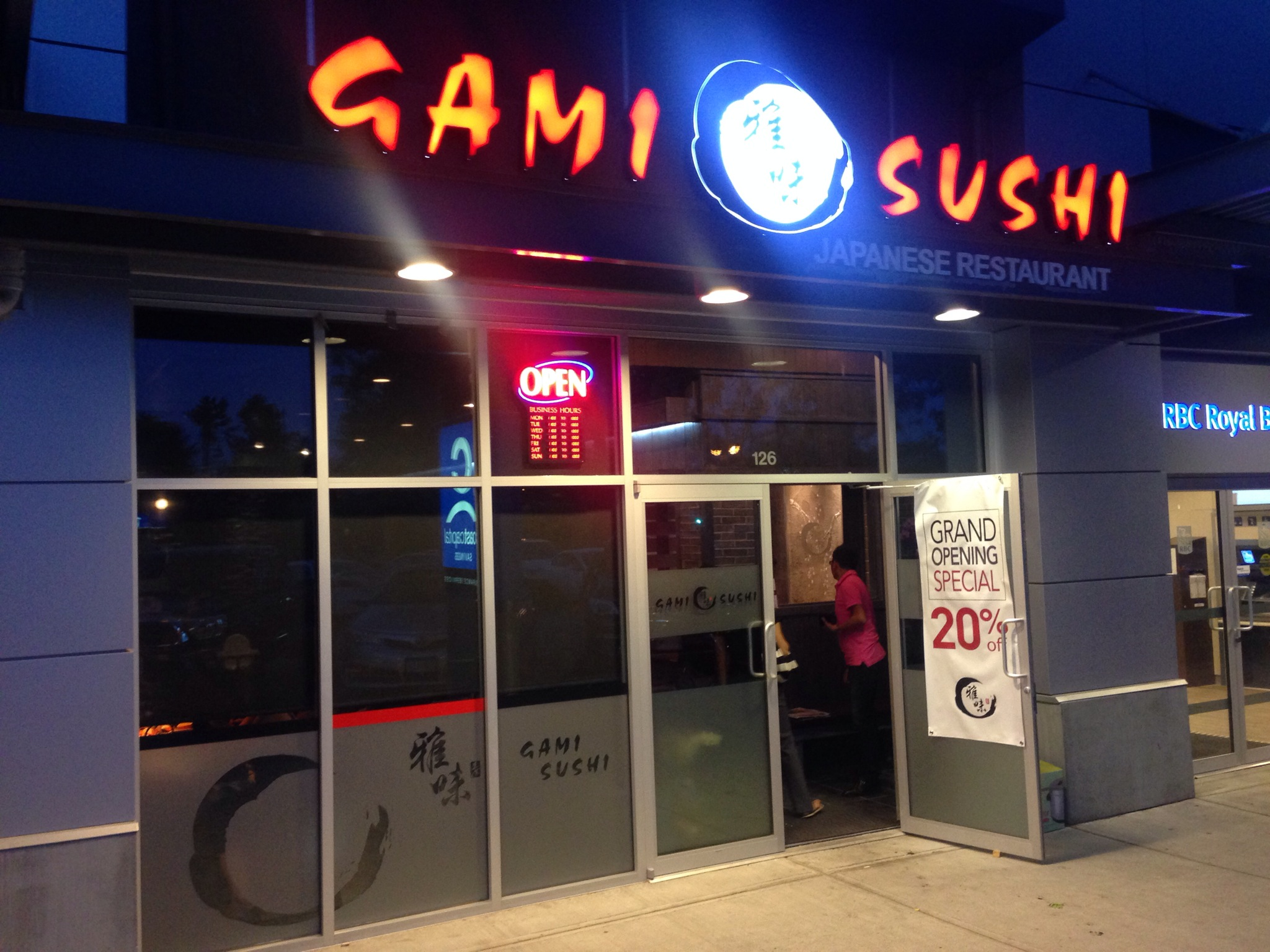 Gami Sushi Richmond