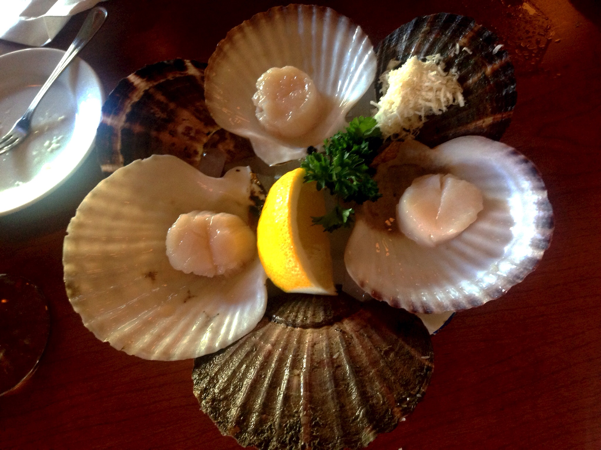 Raw Scallop @ Oyster Express