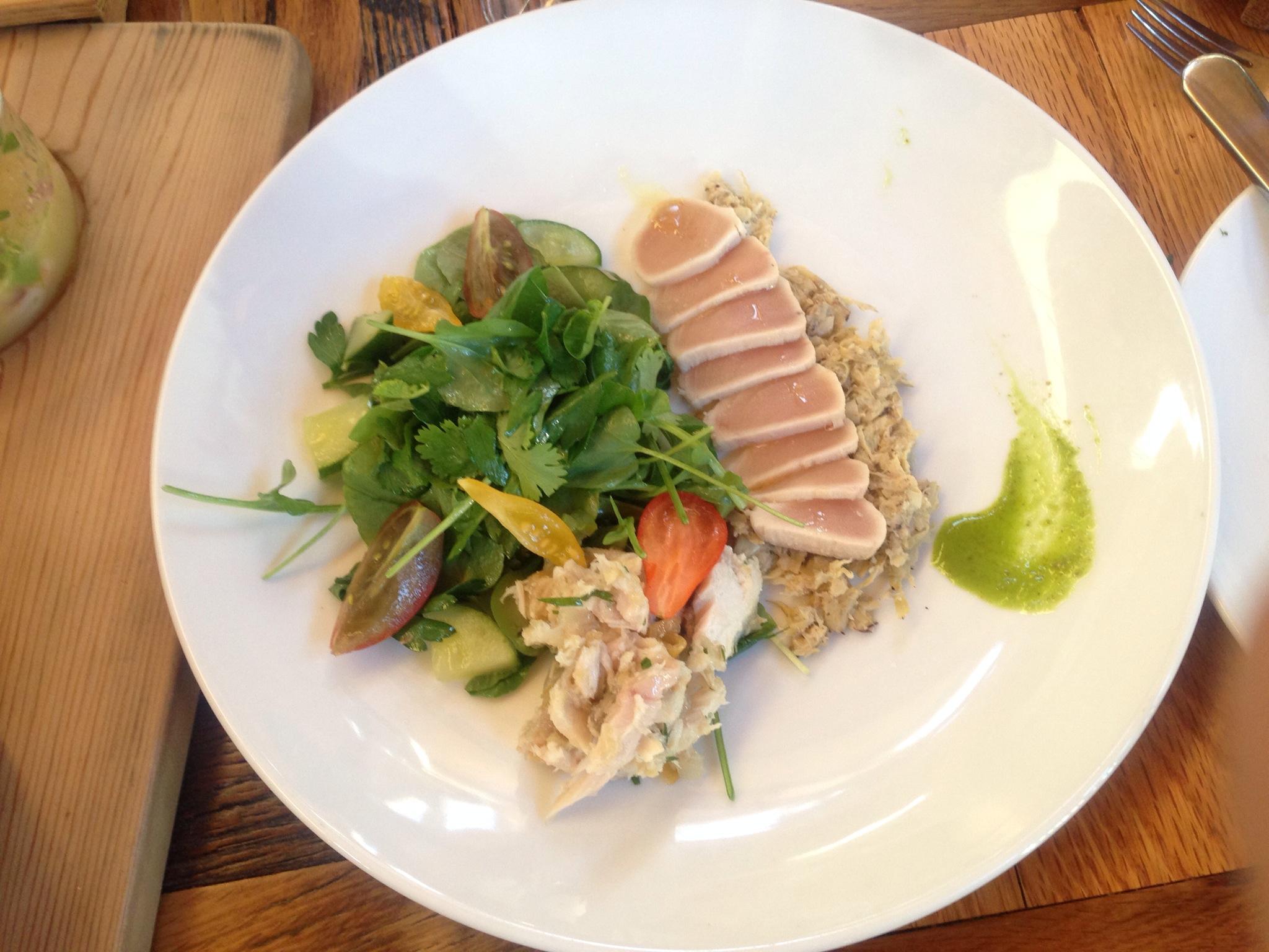 Mediterranean Tuna Two Ways @ The Belgard Kitchen