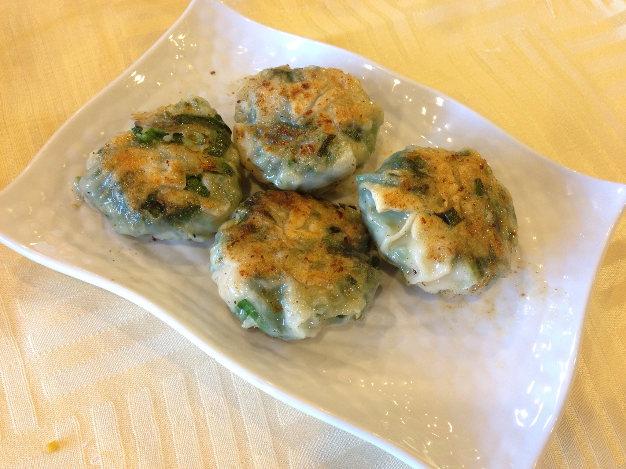 Chive Dumpling @ Tak Heng Hot Pot