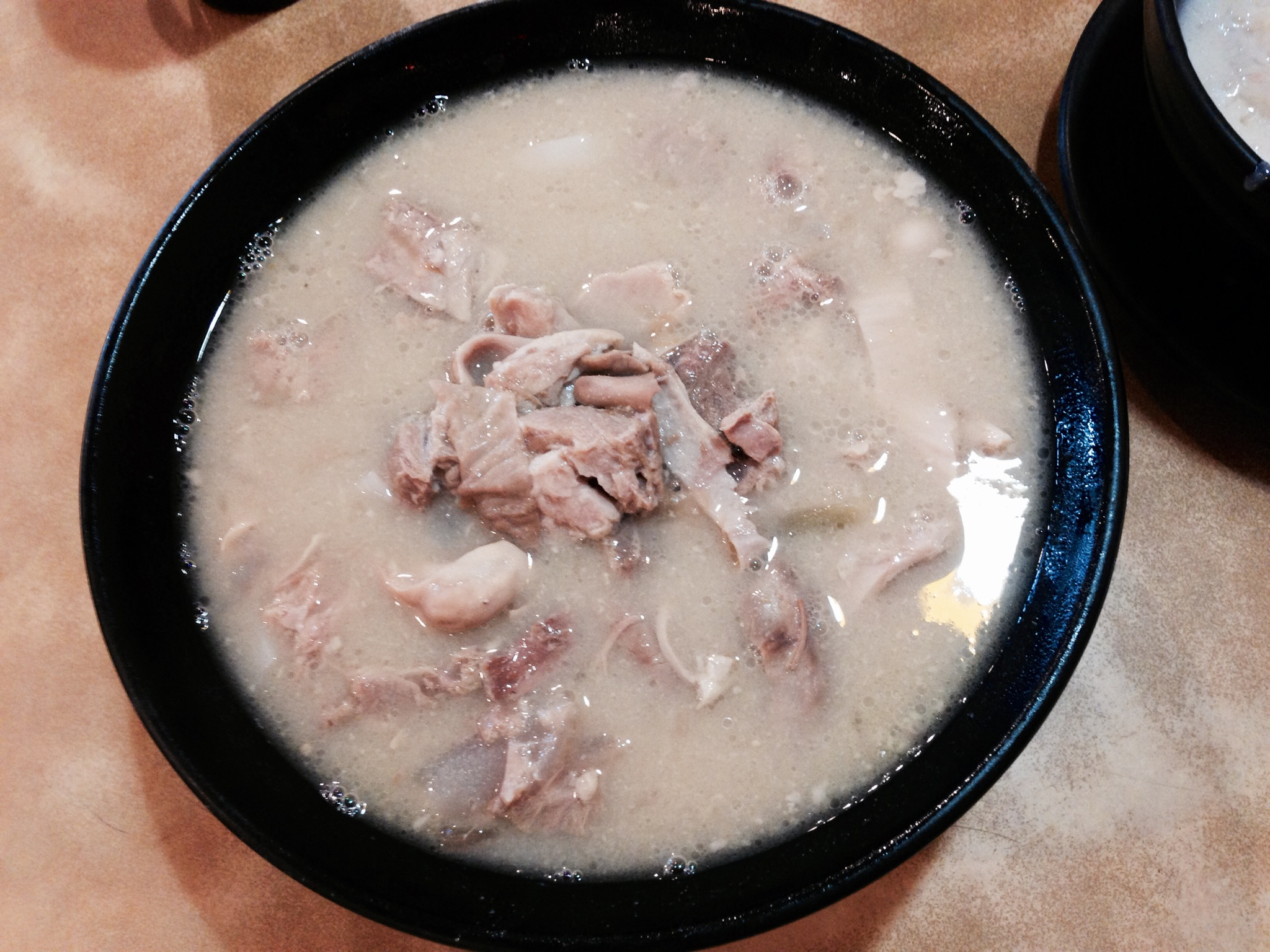 Pepper Pork Tripe Rice Noodle in Soup @ Double Double