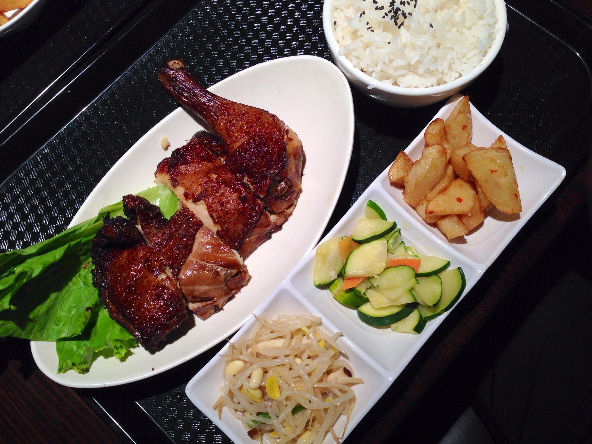 Signature  BBQ Chicken and Rice Set @ Strike Taiwanese Restaurant, Richmond
