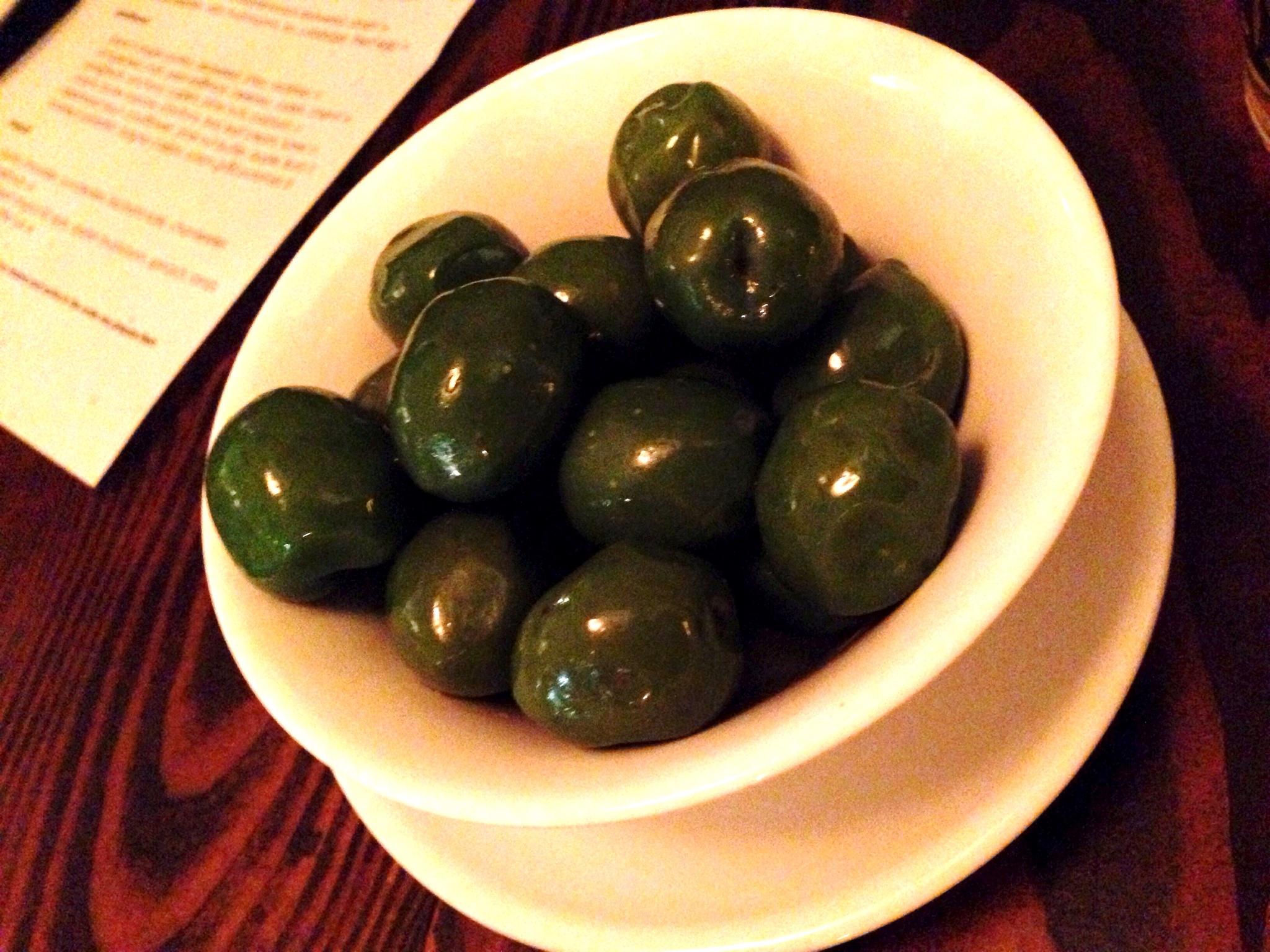smoked castelvatrano olives