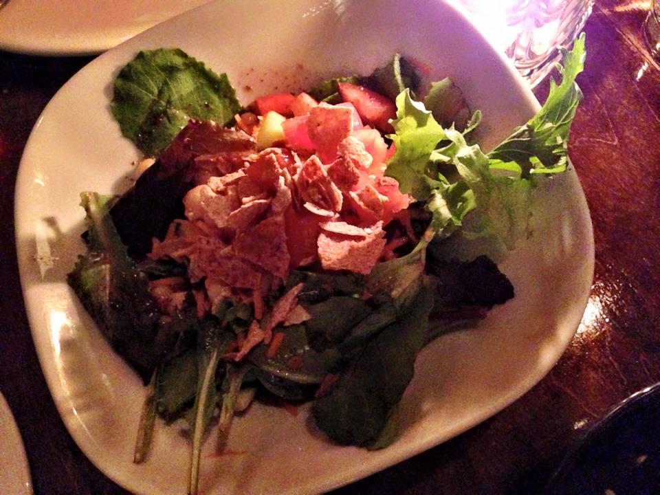Fattoush Salad @ Nuba Kitslano