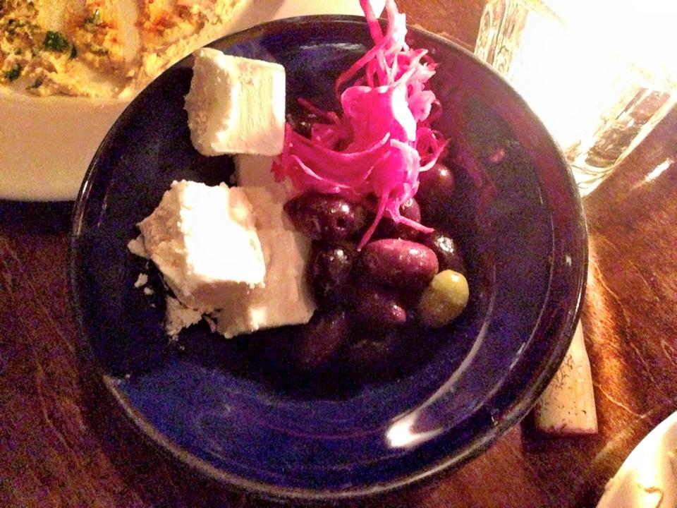 Mixed Olives & Macedonian Feta Cheese