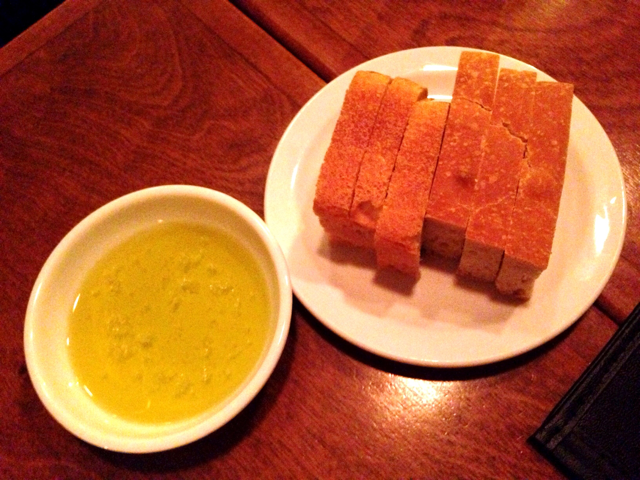 House Made Bread & EVOO @ Ask For Luigi