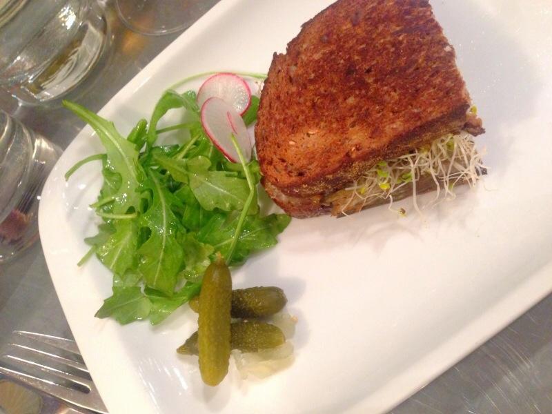 Eggplant Sandwich @ Bel Cafe