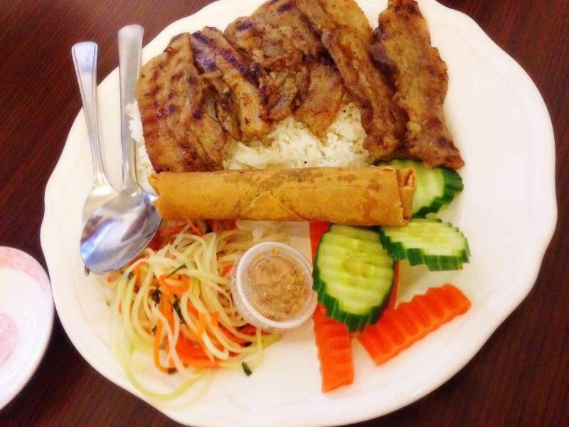 Five Spice Pork Belly on Rice