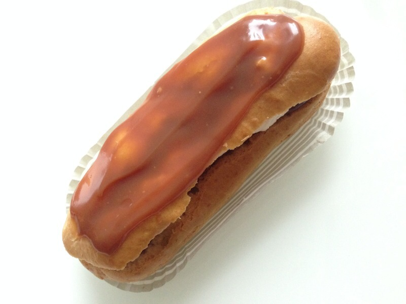 Chocolate and Caramel Eclair @ Sweet Spot Bakery