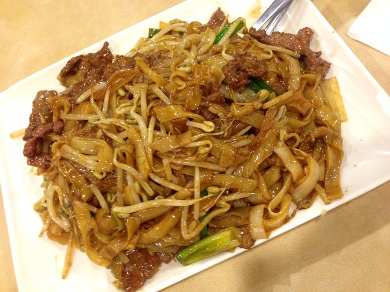 Aged Soya Beef Chow Fun @ Double Double