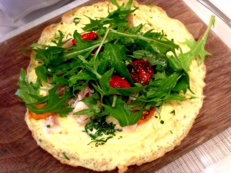 'arnold bennett' omelette  @ Hawksworth
