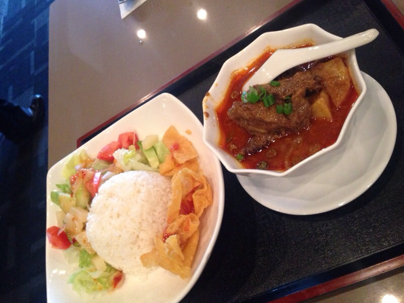 Curry Beef Brisket on Rice @ Tropika at Lansdowne