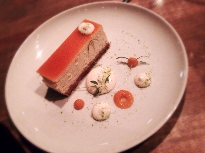 Ricotta cheesecake, passionfruit, lime mousse @ L'Abattoire
