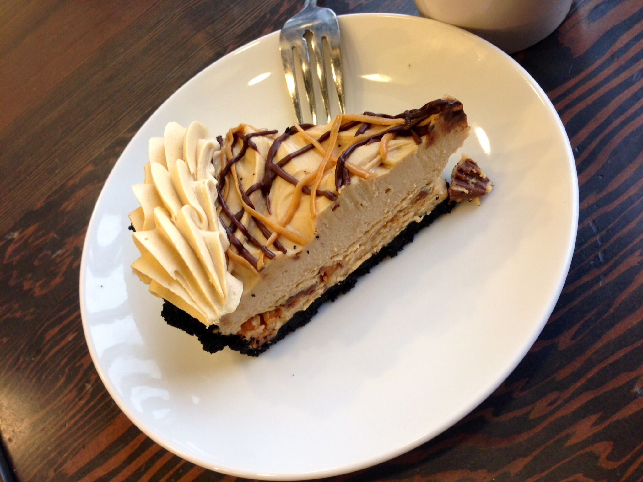 Peanut Butter Pie @ The Last Crumb Bakery & Cafe