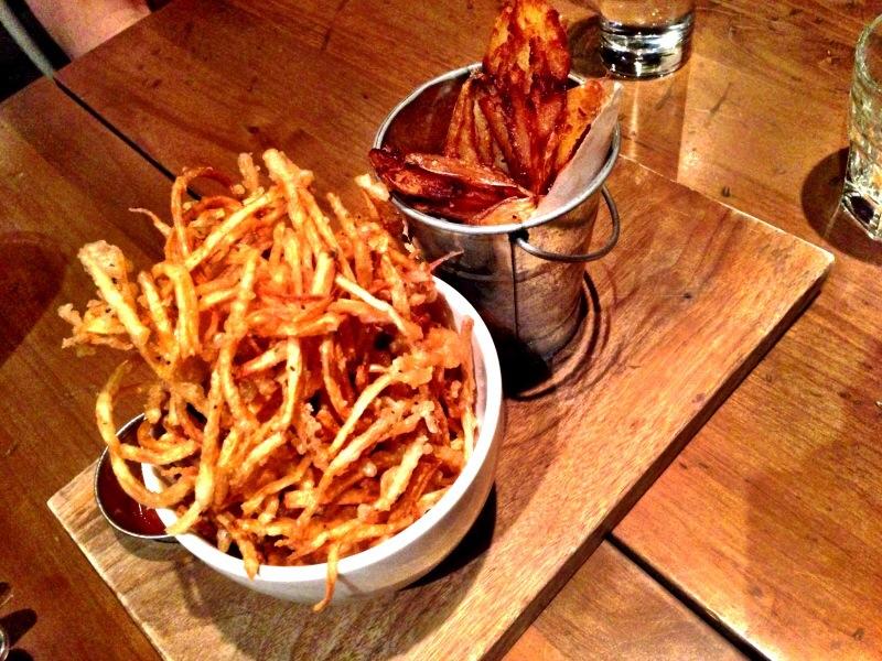 Parsnip & Smashed Potato Fries @ Tuc Craft Kitchen