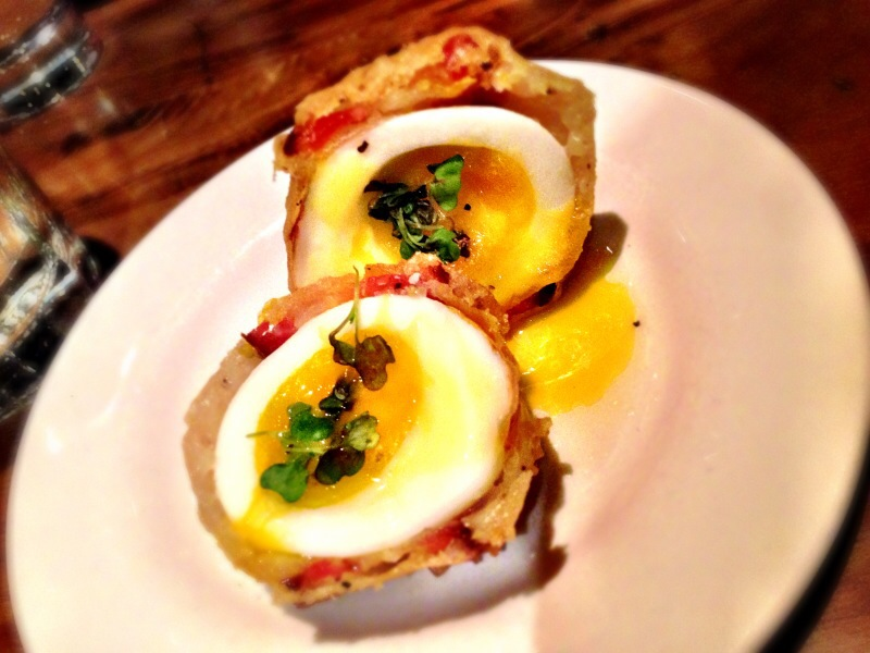 Crispy Bacon & Egg @ Tuc Craft Kitchen