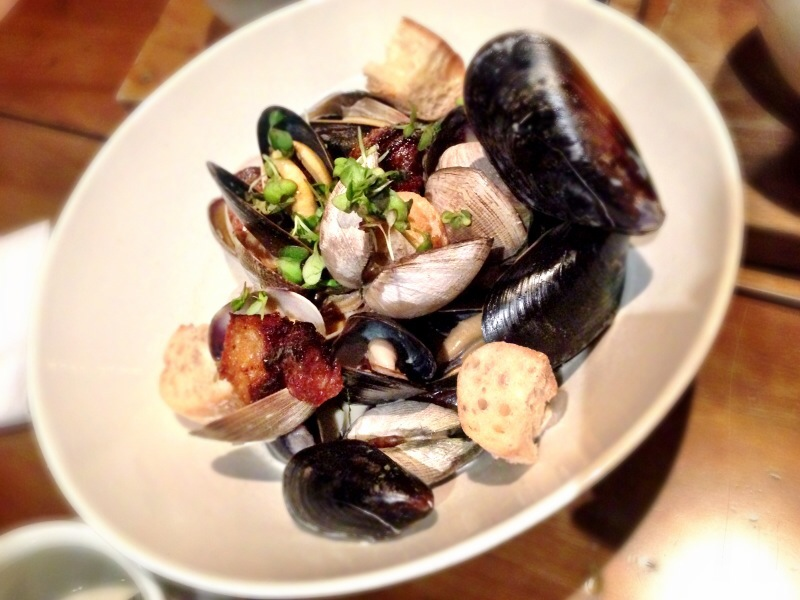 Mussels & Clams @ Tuc Kraft Kitchen