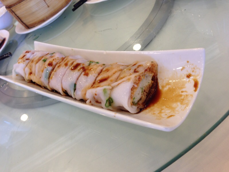 Steamed Crispy Fish Rice Roll