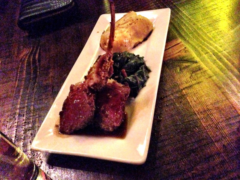 lamb lollipops @ sidecar kitchen and bar