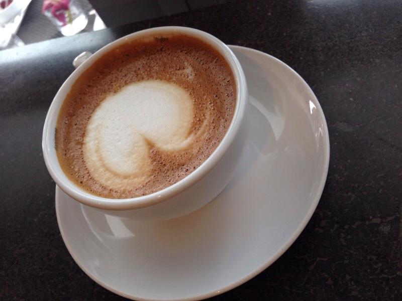 cafe mocha @ giovane cafe