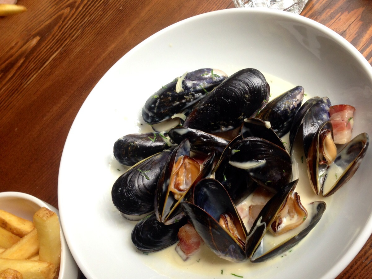 moules frites @ catch 122