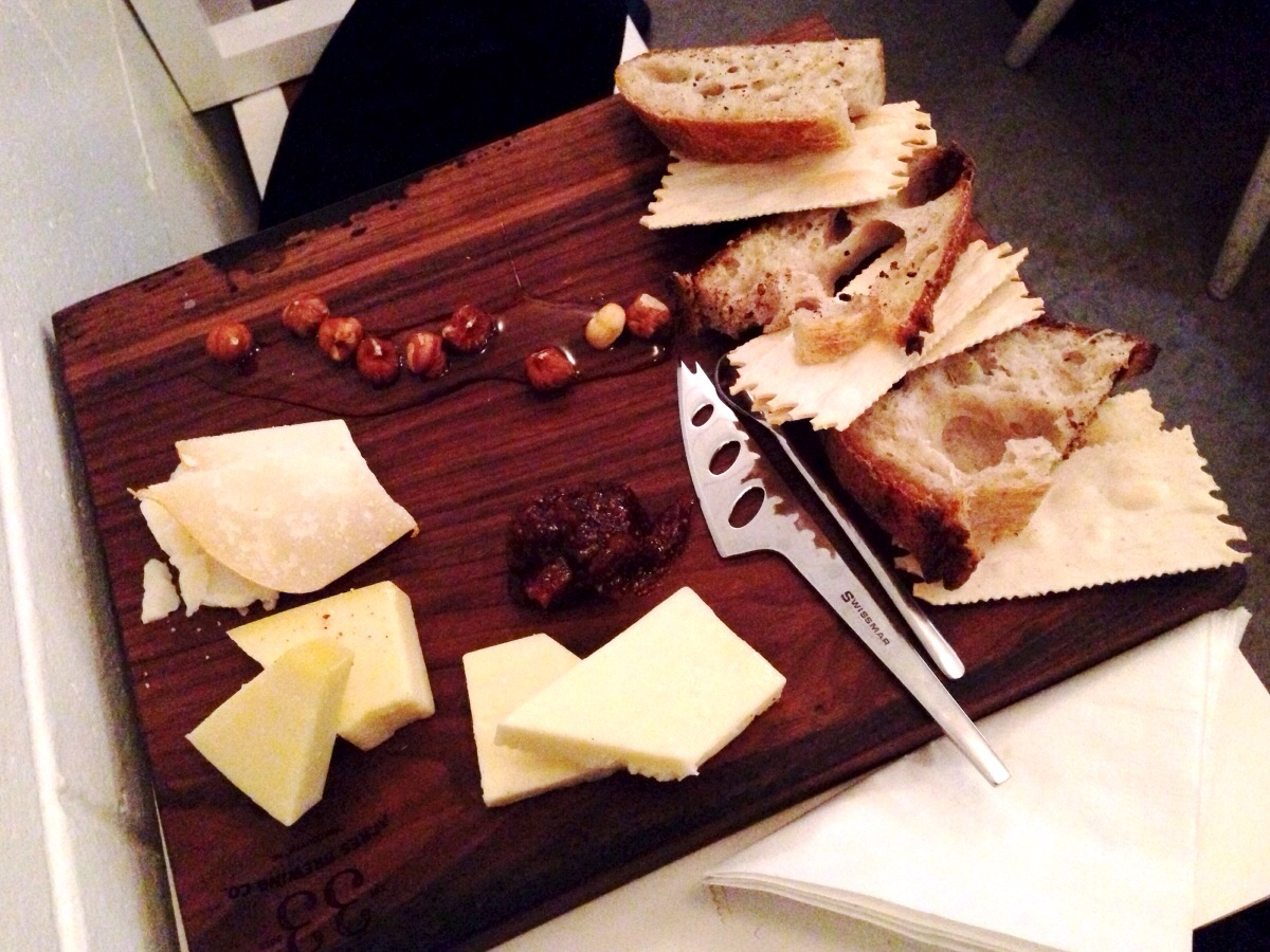 Cheese Board @ 33 Acres