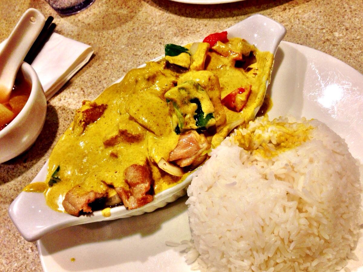 Curry Chicken @ Mui Garden Richmond